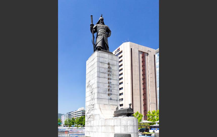 世宗大王の銅像