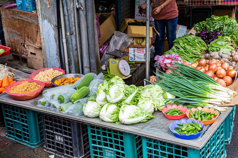 台北の野菜