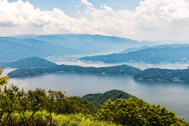 数万年前の日本を伝える三方五湖の水月湖 | フリー素材・壁紙 fotoma