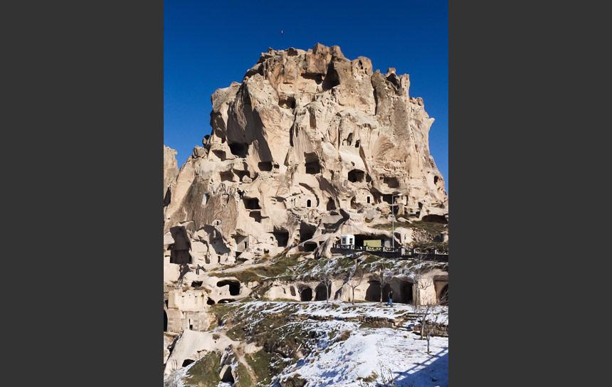 ウチヒサールの砦
