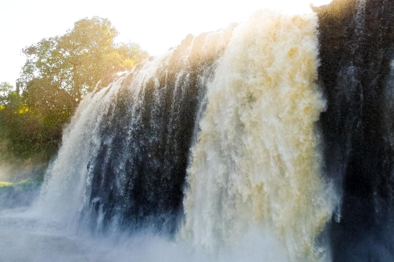 青ナイルの滝