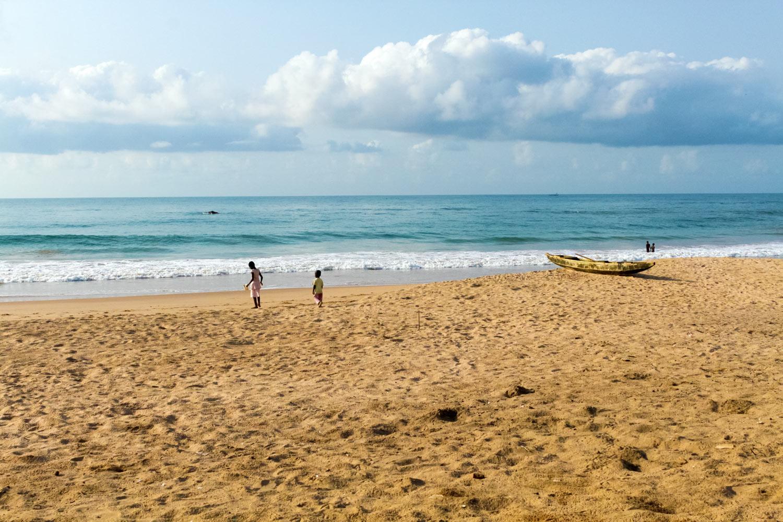 ガーナの海
