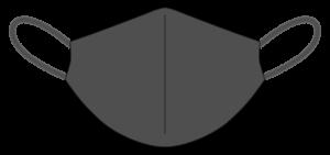 黒いマスク